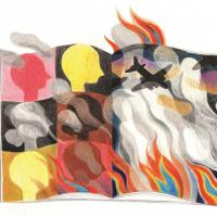 Illustration zum Uni Innsbruck Artikel, Copyright by Timea Terenyei