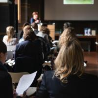 The audience after Ewa Manikowska´s presentation. Foto: © Kunsthistorisches Institut in Florenz