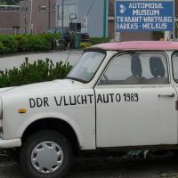 Fluchtauto aus der DDR. Foto: cc-by Sint-Katelijne-Waver