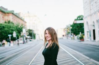 Filmemacherin Jessica Bollag in Wien.