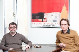 Tjark Kunstreich und Joel Naber. Foto: Christopher Glanzl