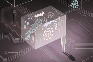 Illustration zu Unterdrücker Algorithmen, Copyright by Richard Klippfeld