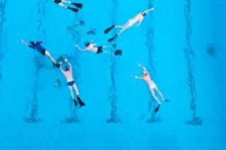 Unterwasserrugby Foto: Christopher Glanzl