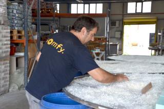 Seifenproduktion <br> Foto: Dieter Diskovic