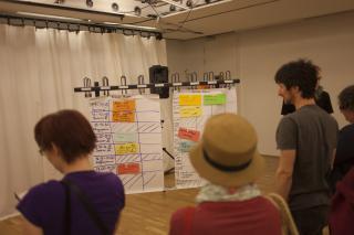 Der Sessionplan. Foto: Mafalda Rakoš