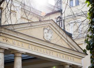 Fassade des Max Reinhardt Seminars