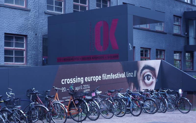 Plakat für das crossing Europe Filmfestival
