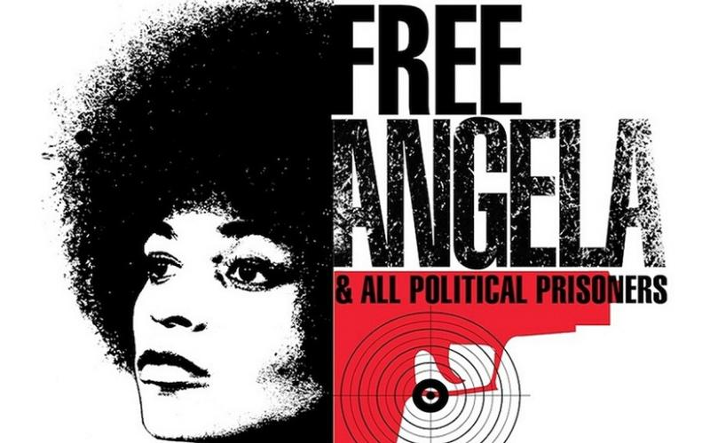 Filmlogo `Free Angela and all political prisoners´