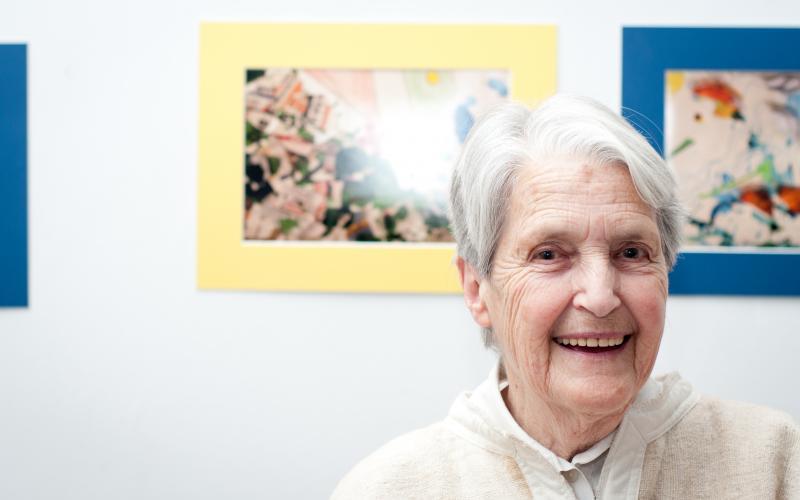 Miriam Rothbacher musste als Kind vor den Nazis flüchten. Heute lebt sie in Österreich und sehnt sich zurück nach Bolivien. Foto: Christoph Glanzl