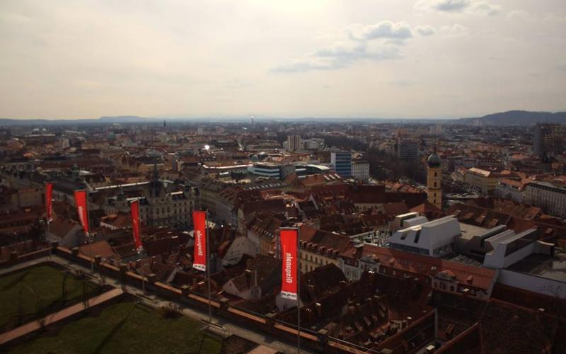 Graz während der Diagonale. Foto: Christina Mylko
