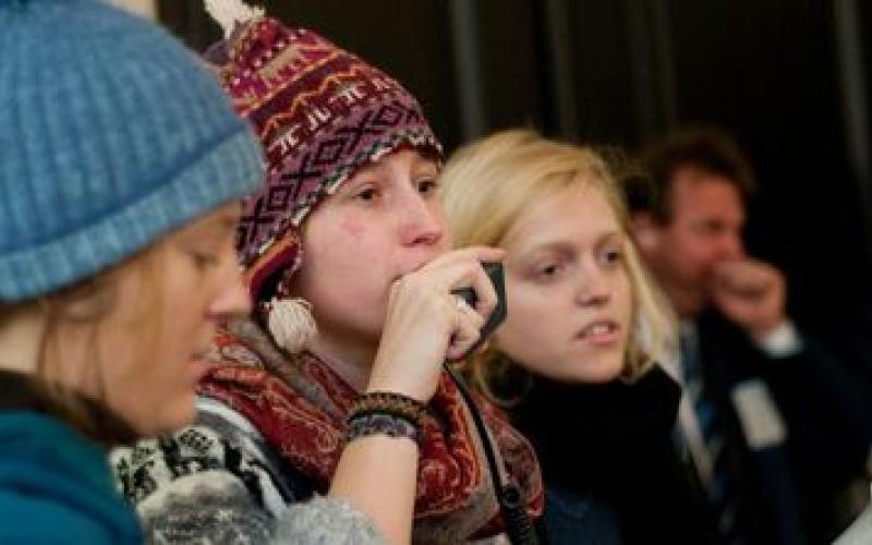 Protest gegen die Abschaffung des Bachelor Internationale Entwicklung