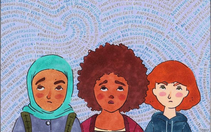 Illustration zur schönen neuen Schulwelt, Copyright by Terry Sunta