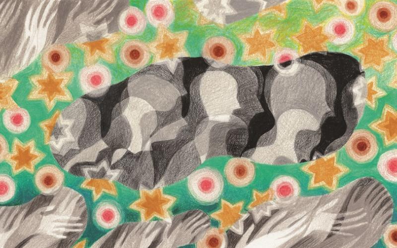 Illustration zum Gedenkpolitik Artikel, Copyright by Timea Terenyei